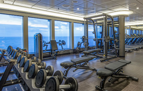 crystal life fitness - dream cruises